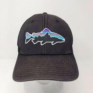 Patagonia Fitz Roy Trout MeshTrucker Hat Black